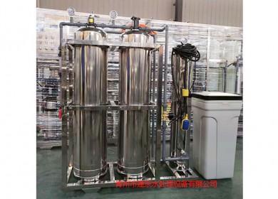 4吨砂碳混合过滤软化设备