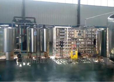 1.5吨全不锈钢双级反渗透设备